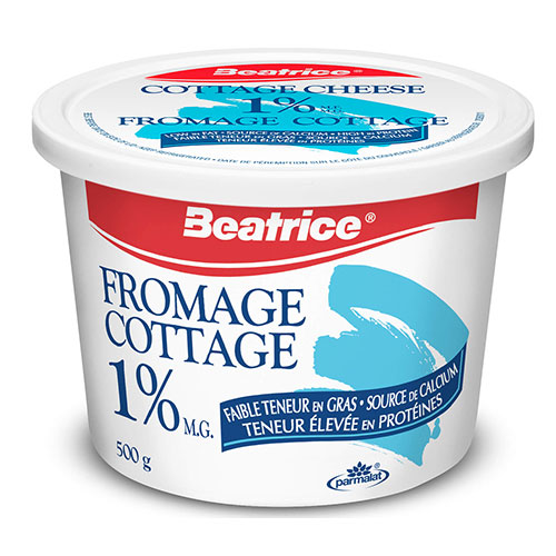 Image Fromage cottage Béatrice 1% 500g