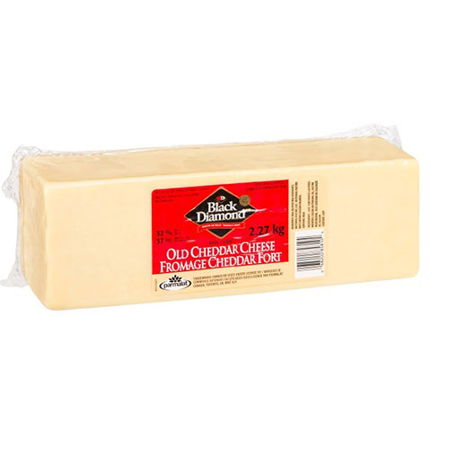 Image Cheddar Black Diamond bloc fort blanc 2.27 kg